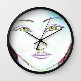 The peaceful soul Wall Clock