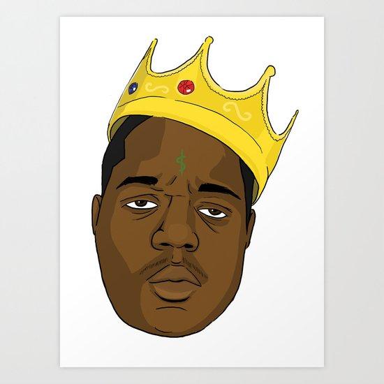 Mo' Money Mo' Problems Art Print