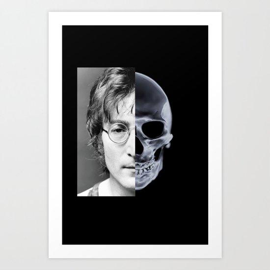 Imaging Art Print