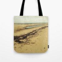calcifer Tote Bags featuring Sandbar by Calcifer
