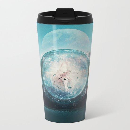 Suction Metal Travel Mug