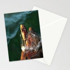 Loggerhead Turtle Stationery Cards