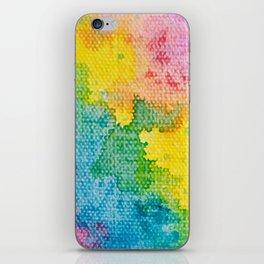 Rainbow Abstract #3 iPhone Skin