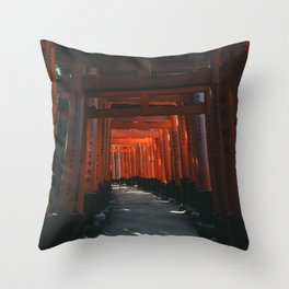 Fushimi-Inari Throw Pillow