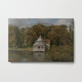 John Constable - The Quarters behind Alresford Hall Metal Print