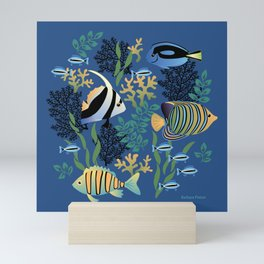 Tropical Fish Mini Art Print