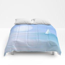 Blue 23 Comforters