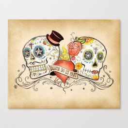 Death Do Us Part Canvas Print