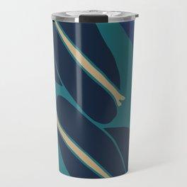 Bellflowers in Blue Travel Mug