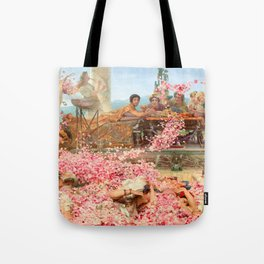 The Roses of Heliogabalus by Sir Lawrence Alma-Tadema Tote Bag