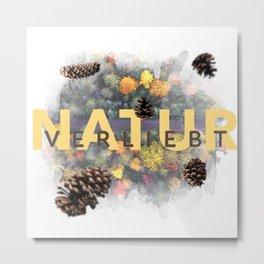 Nature - In Love Metal Print