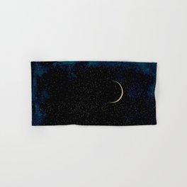 Crescent Moon Hand & Bath Towel