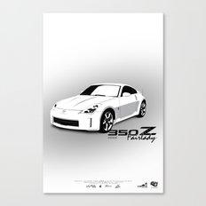 350Z Canvas Print