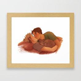 Morning Kiss Framed Art Print