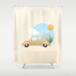 It's Time to Go Home Shower Curtain