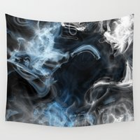 abyss Wall Tapestries featuring Watery Abyss by OnlineGifts