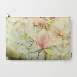 Spring Magnolias Carry-All Pouch