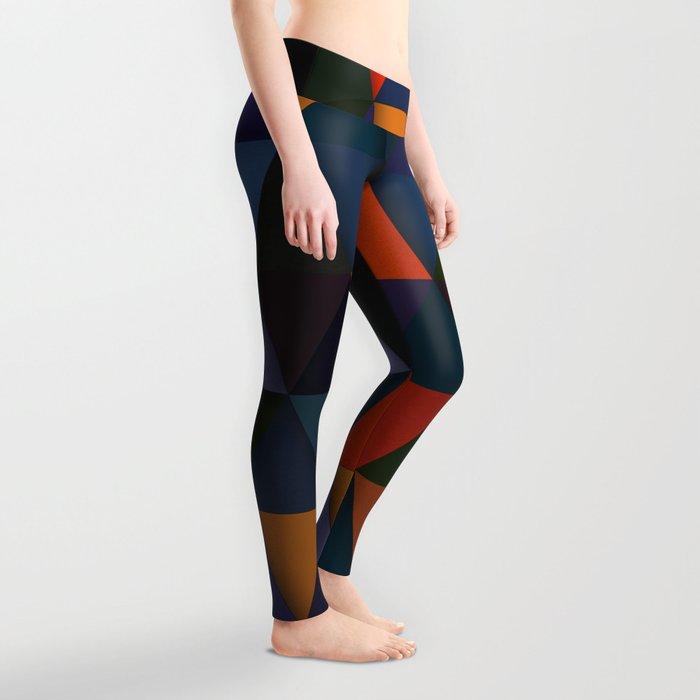 Abstract #285 Leggings