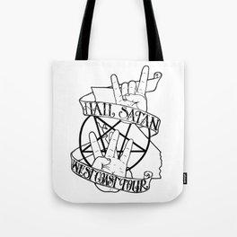 Hail Satan: West Coast Tour Tote Bag