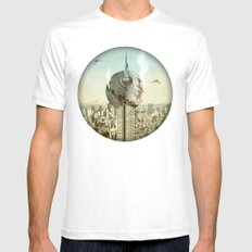 impaled on the empire Mens Fitted Tee White MEDIUM