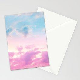 Unicorn Pastel Clouds #3 #decor #art #society6 Stationery Cards