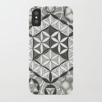 sacred geometry iPhone & iPod Cases featuring Sacred by Brandon Leung