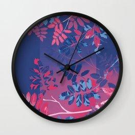 Interleaf - bi Wall Clock