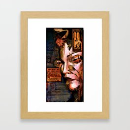 88 cents Framed Art Print