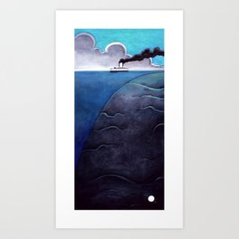 Leviatan. Art Print