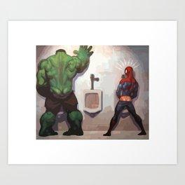 Big Hulk Art Print