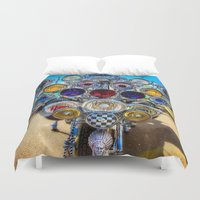 mod Duvet Covers featuring Mod Scooter by Chris Lord