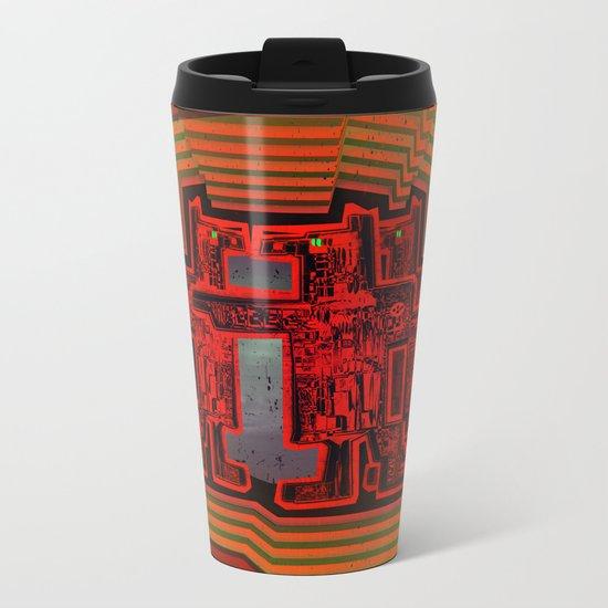 Three's a Crowd / Robotics Metal Travel Mug