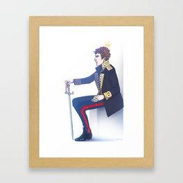 Benedict Cumberbatch - Hamlet Framed Art Print