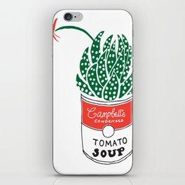 Campbells soup cactus iPhone Skin