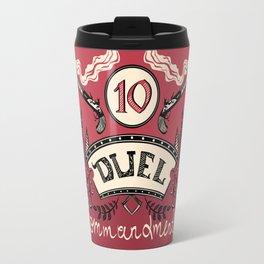 Ten Duel Commandments Travel Mug