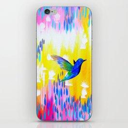 Hummingbird Sunrise iPhone Skin