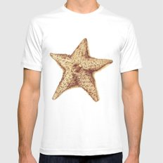 Staryu White SMALL Mens Fitted Tee