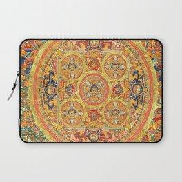 Buddhist Mandala 44 Five Circles Laptop Sleeve