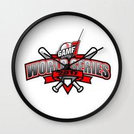7 World Series Wall Clock
