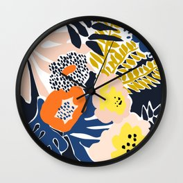 More design for a happy life - high Wall Clock