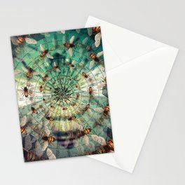 Bees: Masters of Time and Space Stationery Cards