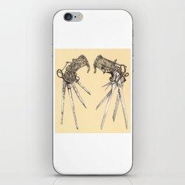 Scissorhands(Antique) iPhone Skin