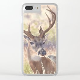 White Tail Clear iPhone Case