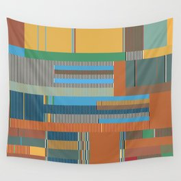 Scandinavian Moon (Nature Trail Colours) Wall Tapestry