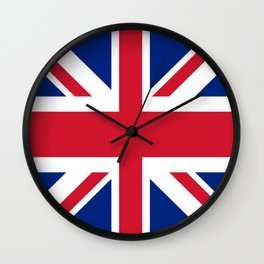 flag of uk- London,united kingdom,england,english,british,great britain,Glasgow,scotland,wales Wall Clock