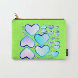 Garden of  hearts Carry-All Pouch