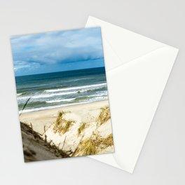 Sand Dune Beach Access North Sea Denmark Haurvig Stationery Cards