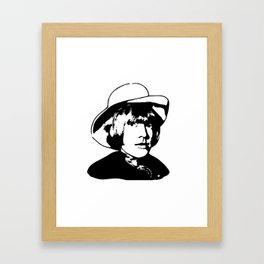 PORTRAIT OF BRIAN THE STONE Framed Art Print