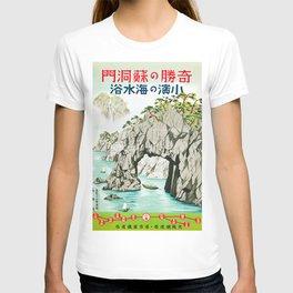 Vintage 1930s Travel Poster-Japan T-shirt