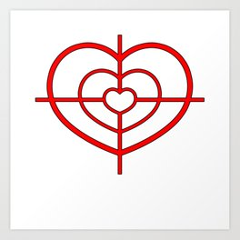 Heartscope Art Print